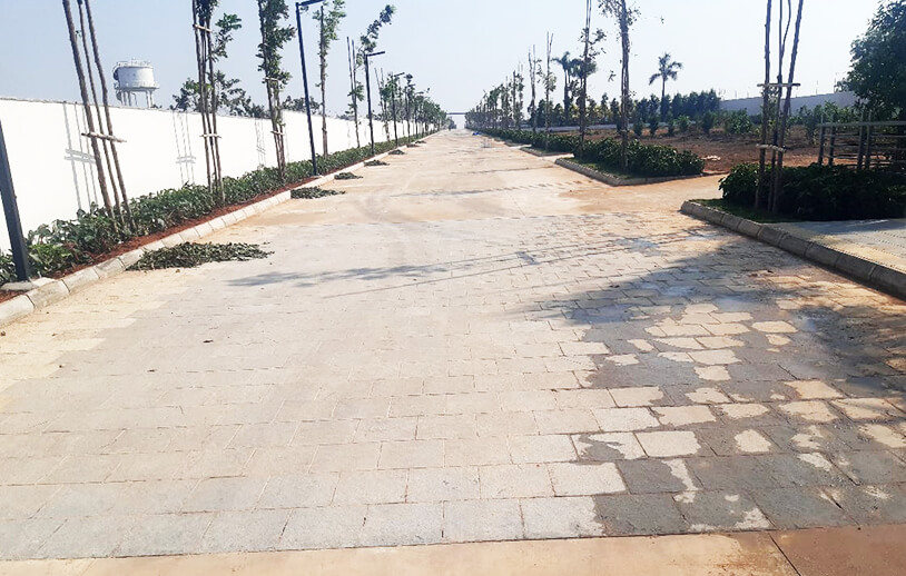 Premium Gated Community Open Plots for Sale in Patancheru, Hyderabad at Sterlings Palm Retreat