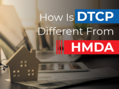 How is DTCP different from HMDA?