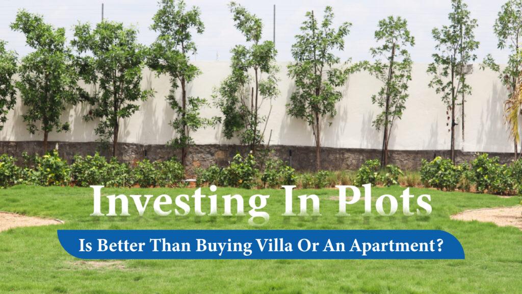 Investing in Plots